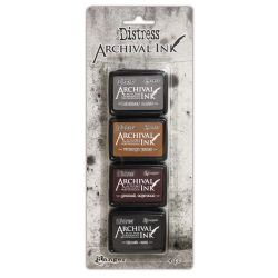 Ranger , Tim Holtz®  Distress Archival Mini Ink Pad Kit #3